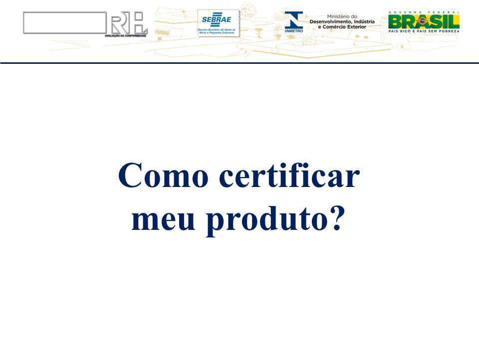 Como certificar meu produto