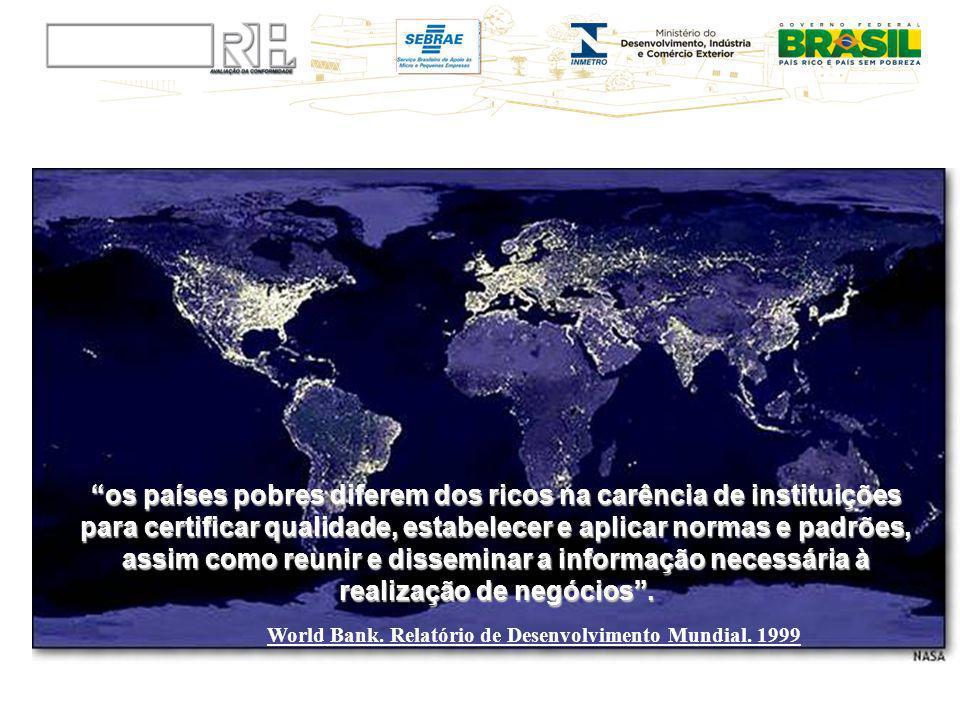 World Bank. Relatório de Desenvolvimento Mundial. 1999