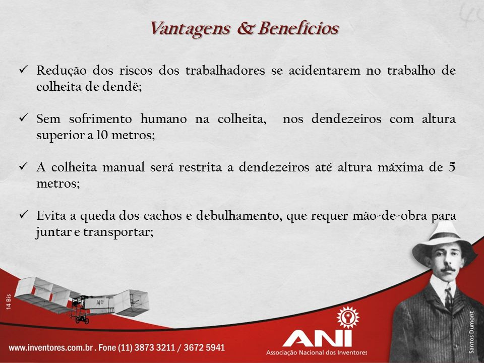 Vantagens & Benefícios