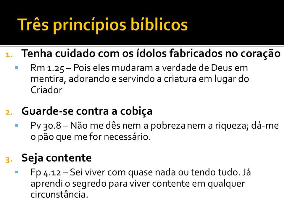Três princípios bíblicos