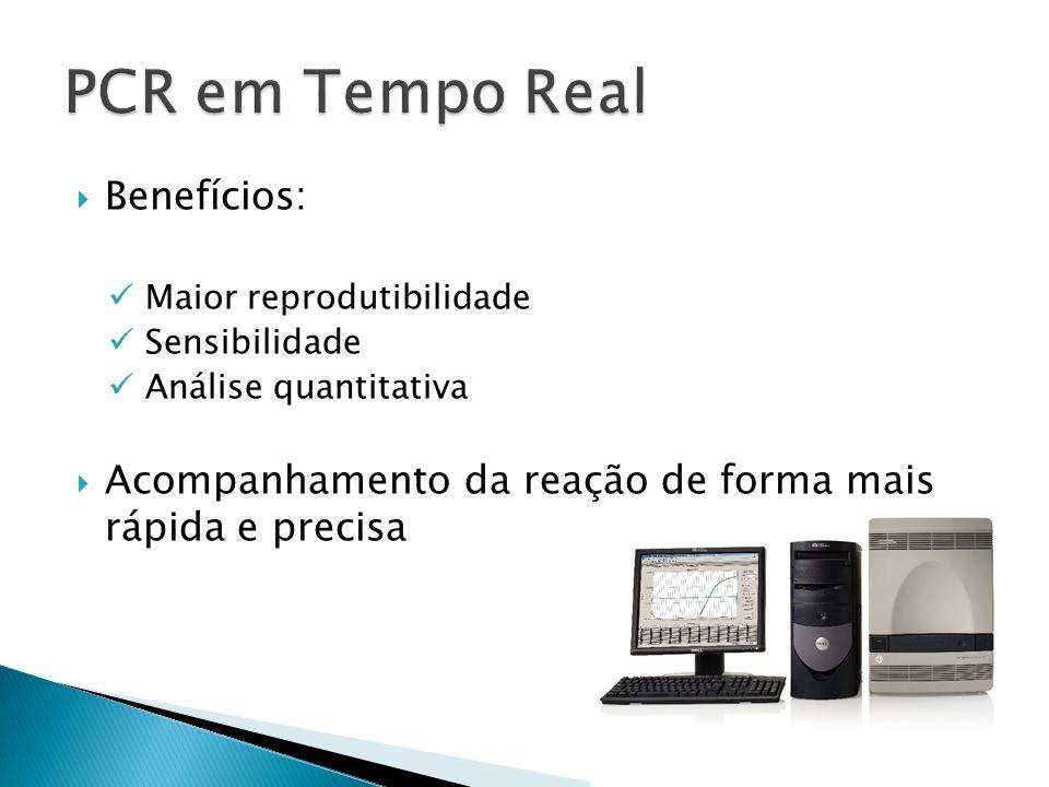 PCR em Tempo Real Benefícios: