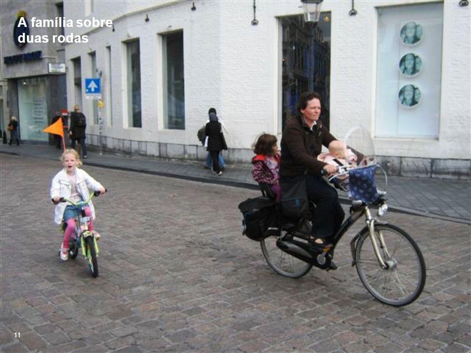 A família sobre duas rodas