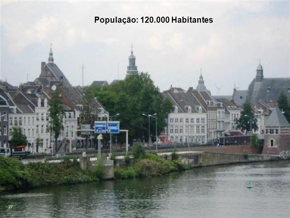 População: 120.000 Habitantes