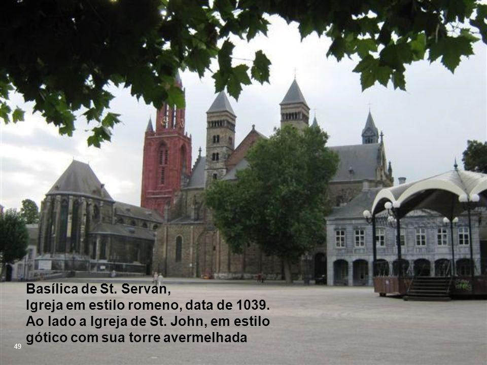 Basílica de St. Servan, Igreja em estilo romeno, data de 1039