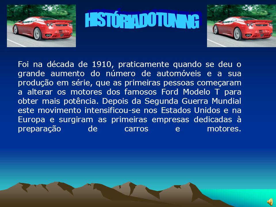 HISTÓRIA DO TUNING