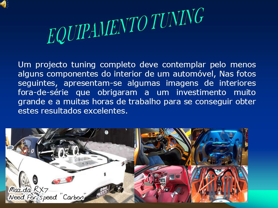 EQUIPAMENTO TUNING