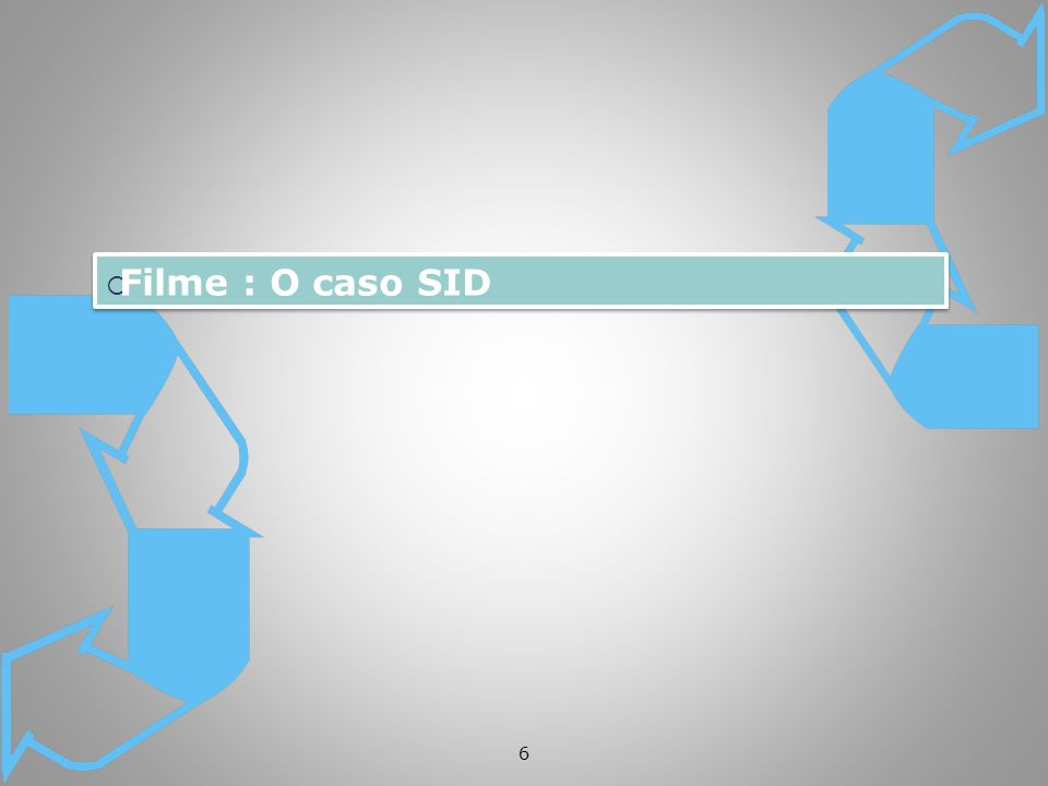 Filme : O caso SID