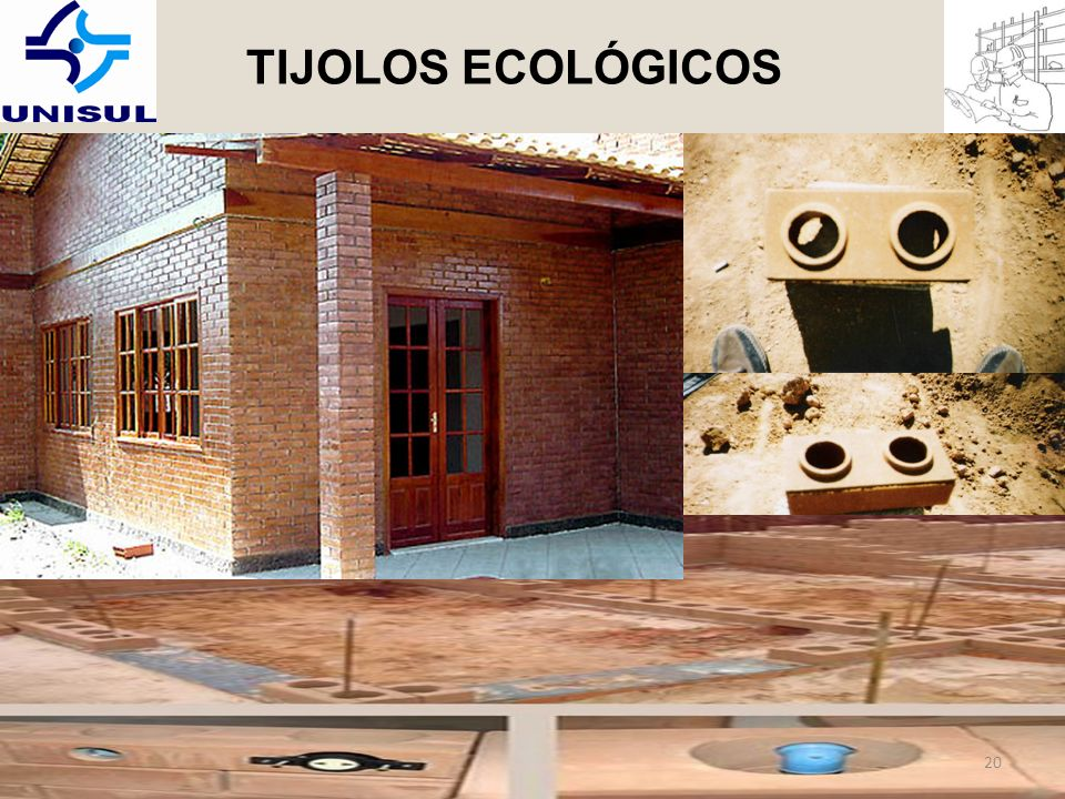 TIJOLOS ECOLÓGICOS