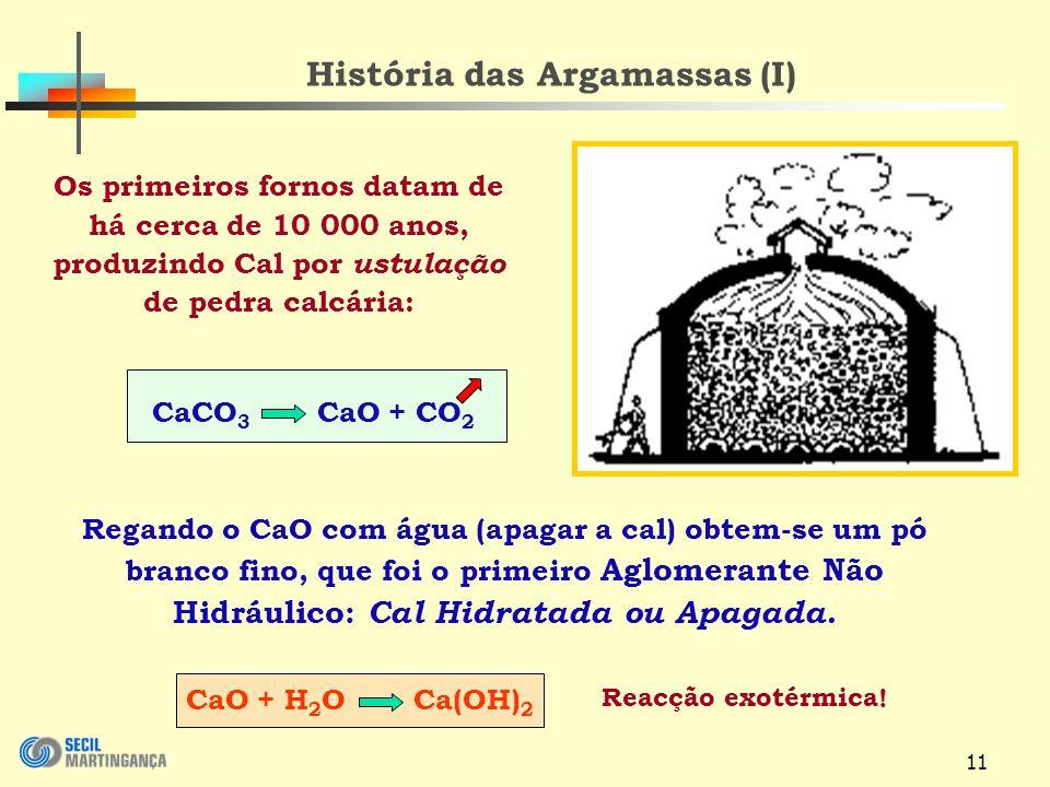 História das Argamassas (I)