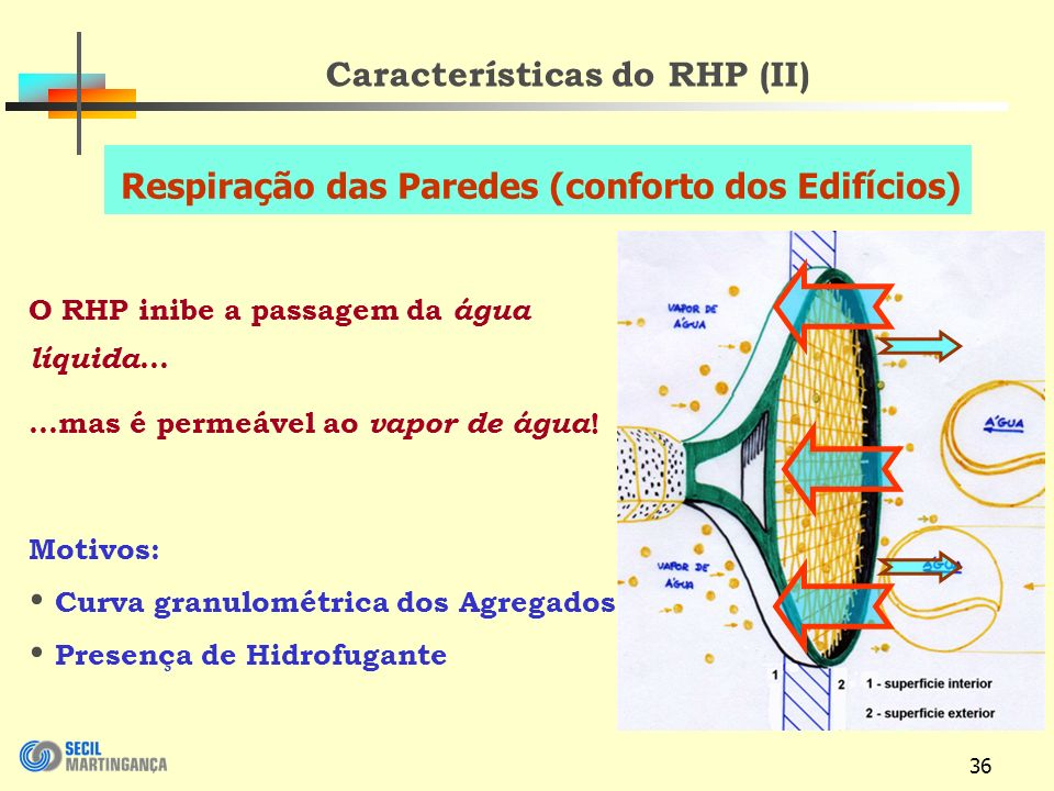 Características do RHP (II)