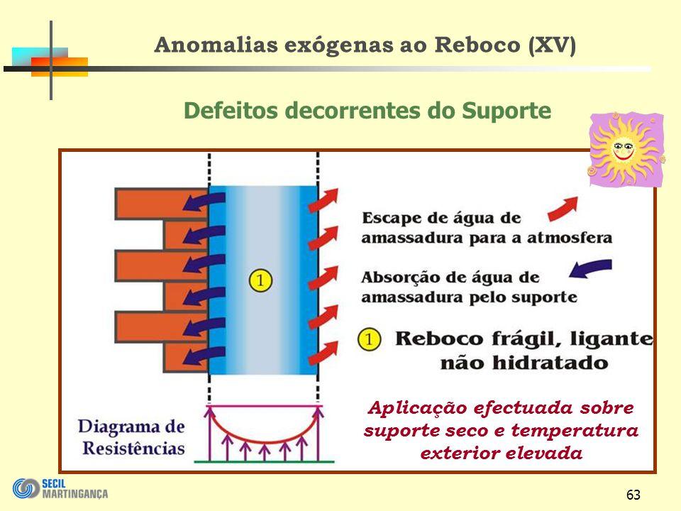 Anomalias exógenas ao Reboco (XV)