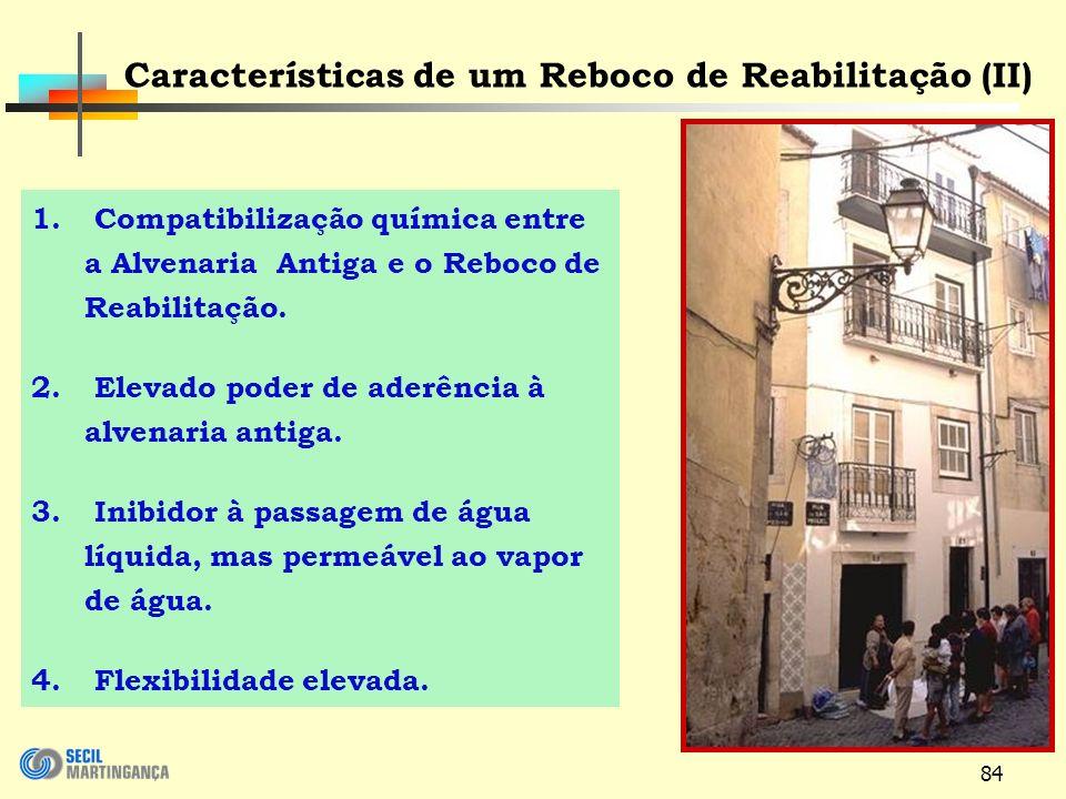 Características de um Reboco de Reabilitação (II)