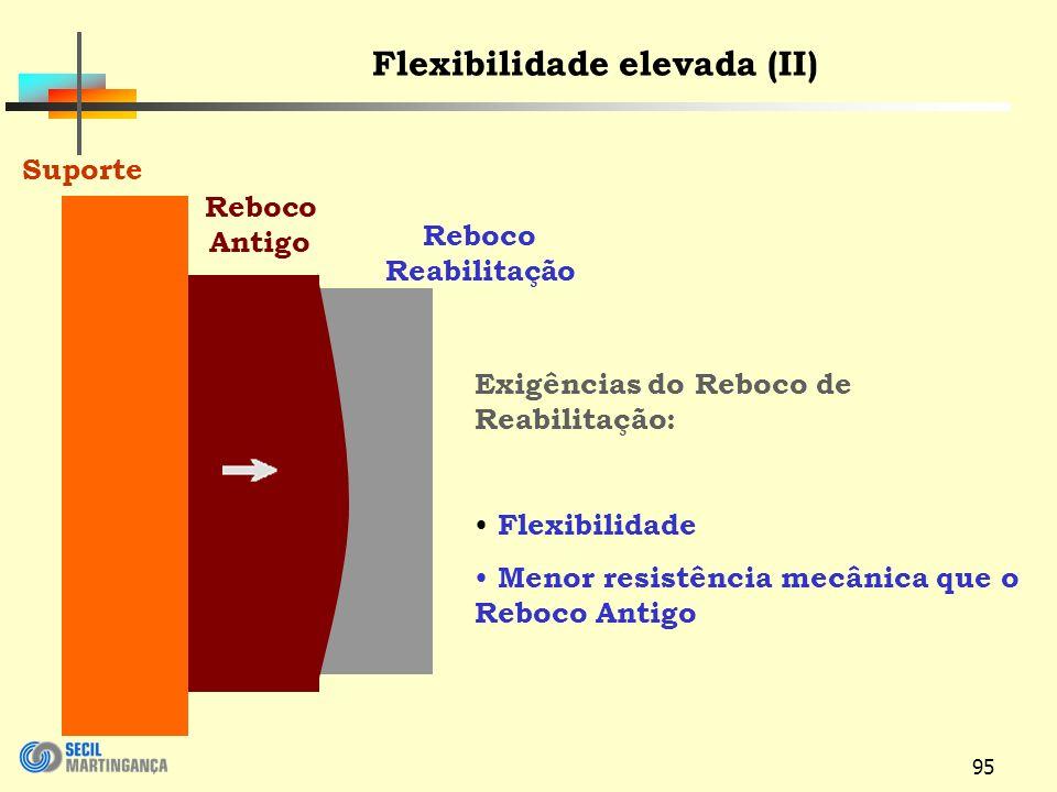 Flexibilidade elevada (II)