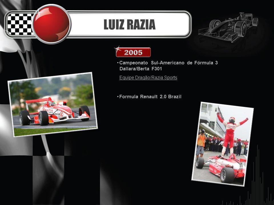 LUIZ RAZIA 2005 Campeonato Sul-Americano de Fórmula 3