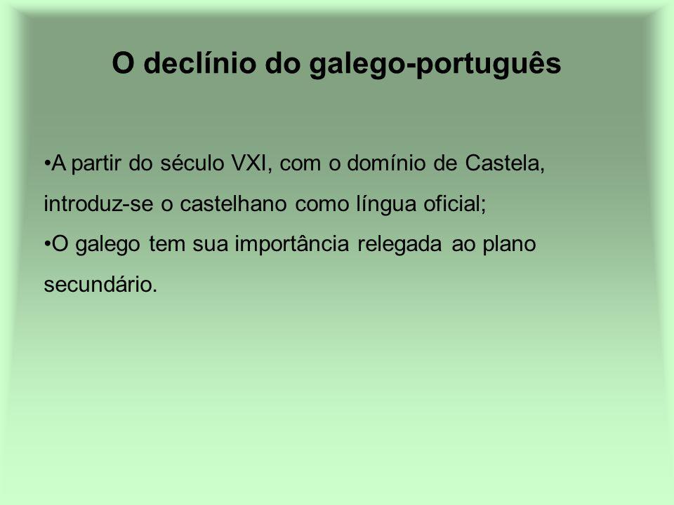 O declínio do galego-português