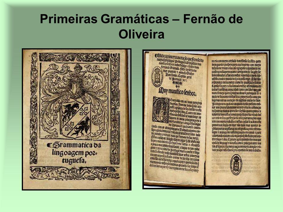 Primeiras Gramáticas – Fernão de Oliveira