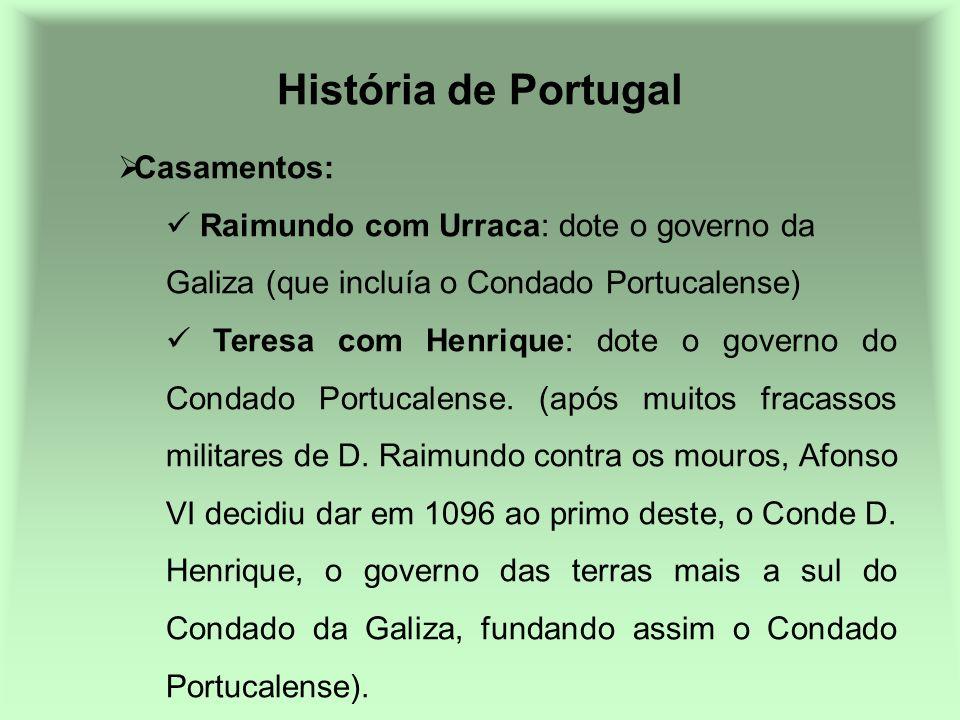 História de Portugal Casamentos: