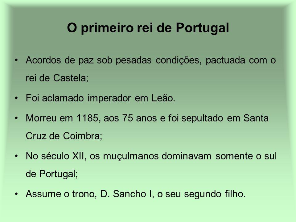 O primeiro rei de Portugal