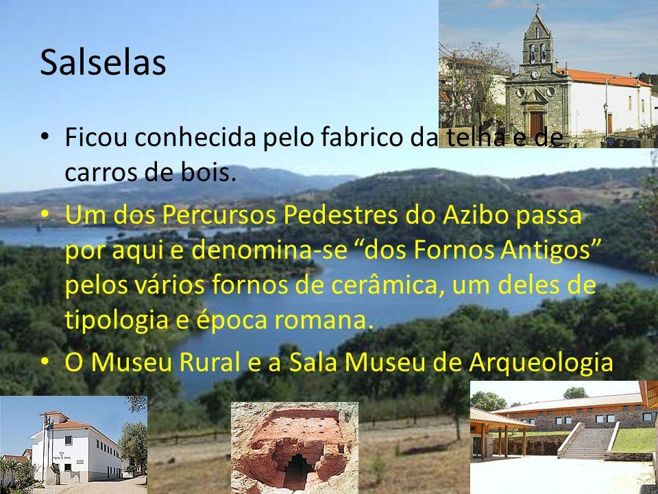 Salselas Ficou conhecida pelo fabrico da telha e de carros de bois.