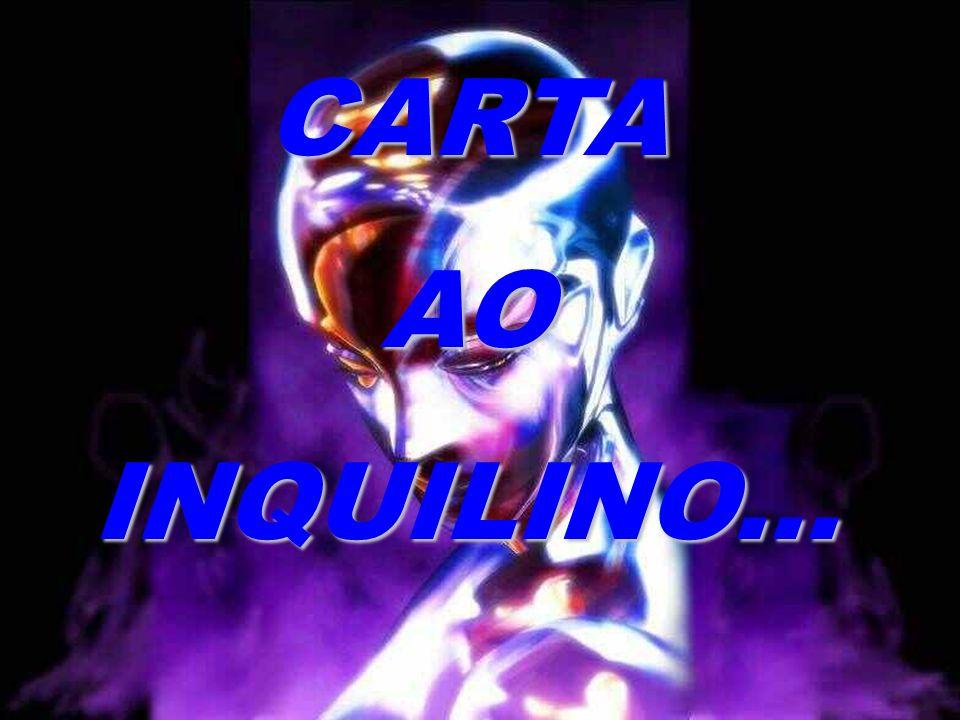 CARTA AO INQUILINO...