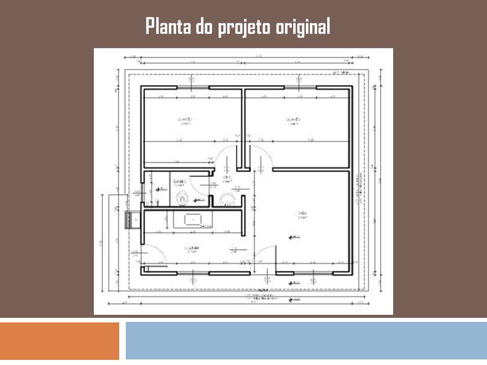 Planta do projeto original