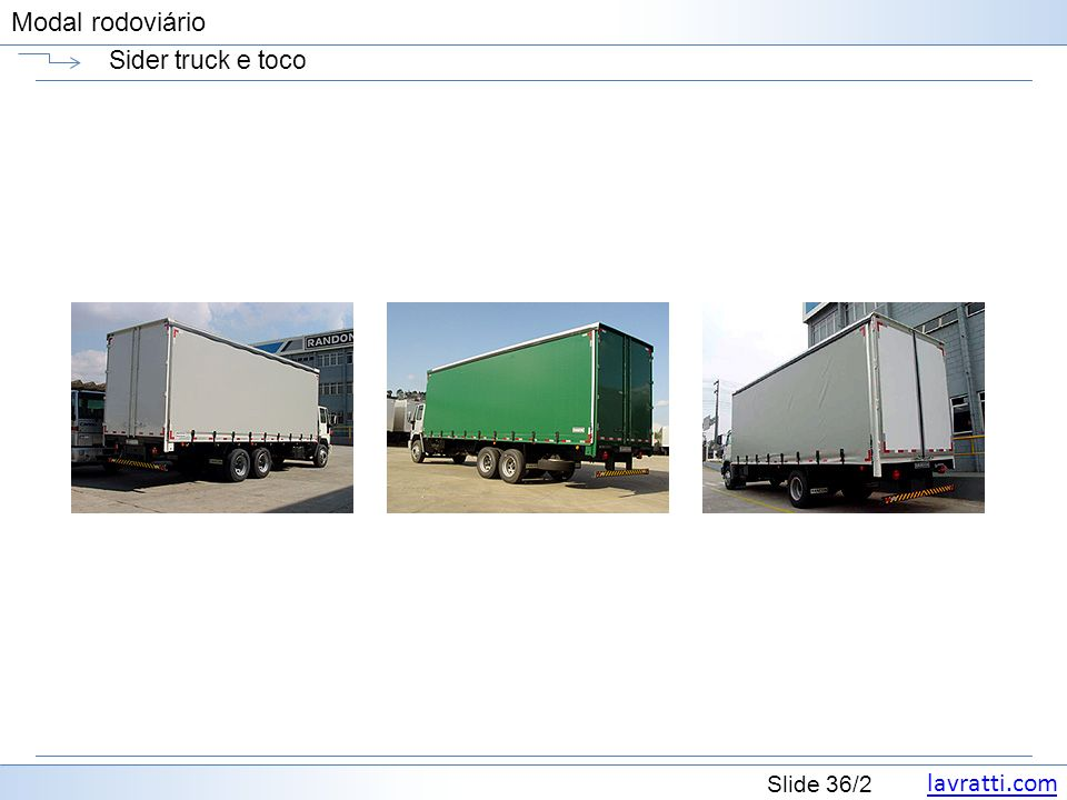 Sider truck e toco