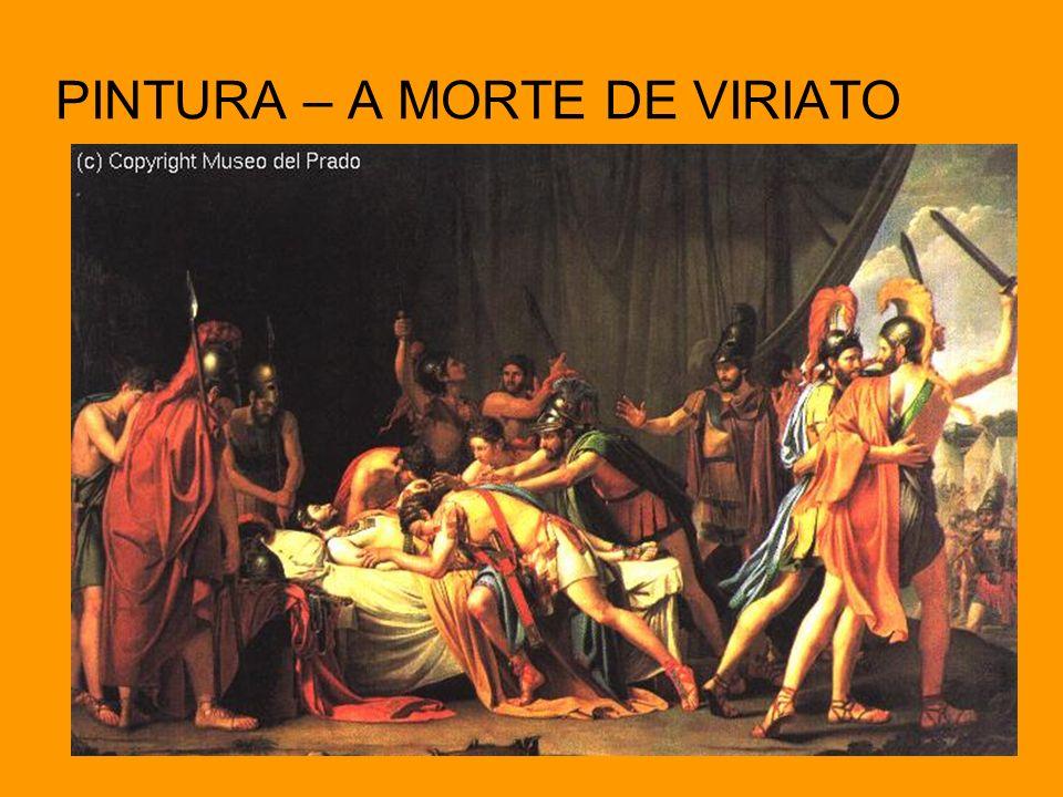 PINTURA – A MORTE DE VIRIATO