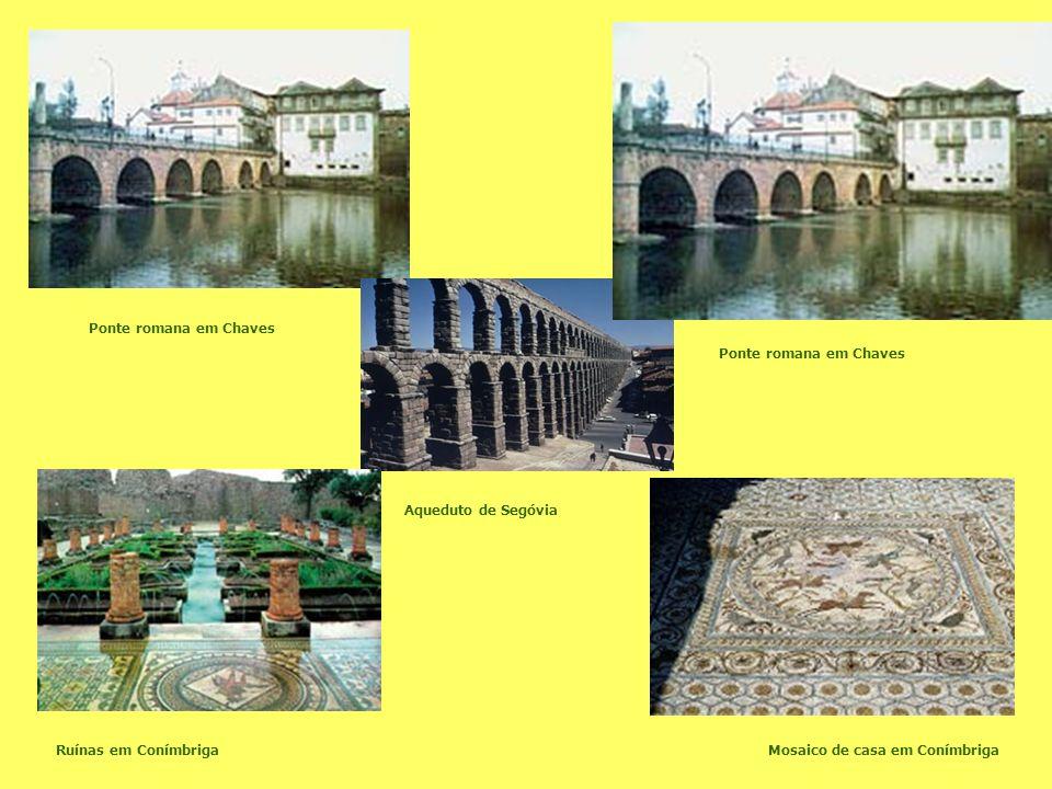 Ponte romana em Chaves Ponte romana em Chaves Aqueduto de Segóvia