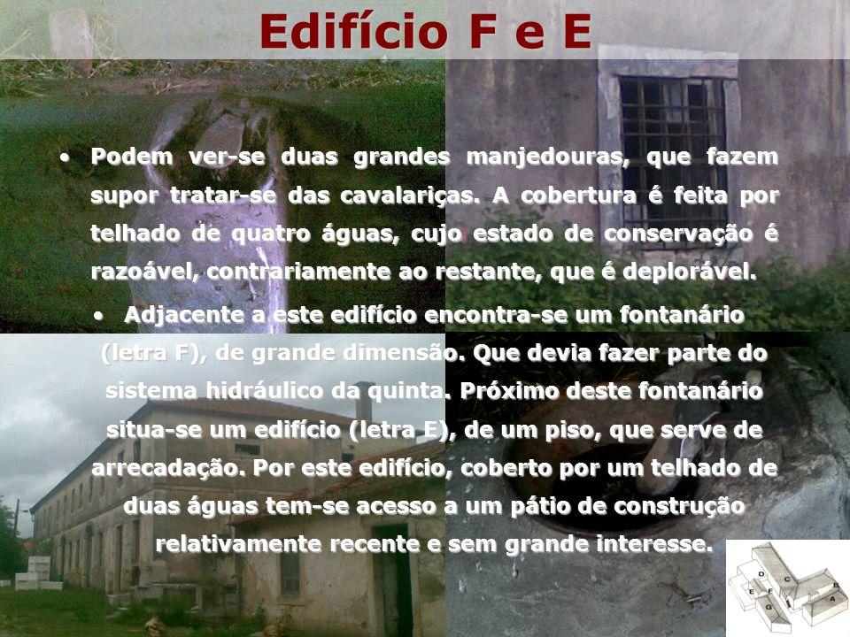 Edifício F e E