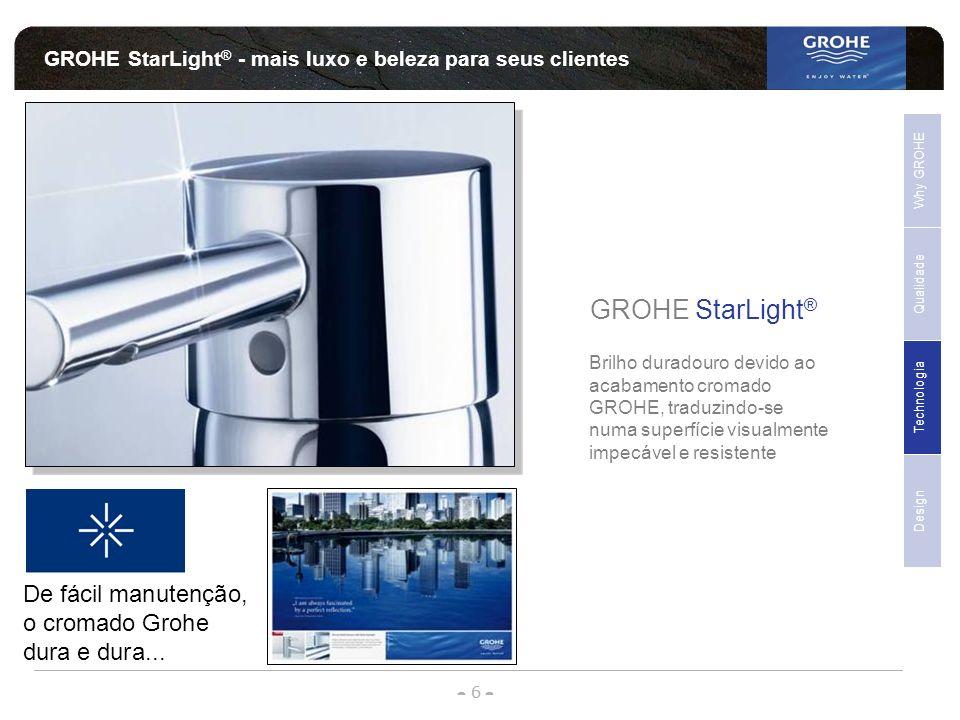 GROHE StarLight® - mais luxo e beleza para seus clientes