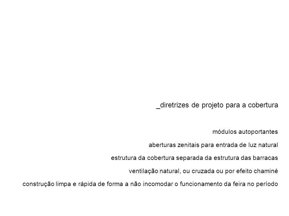 _diretrizes de projeto para a cobertura