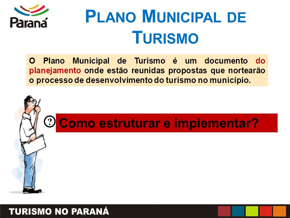 Plano Municipal de Turismo