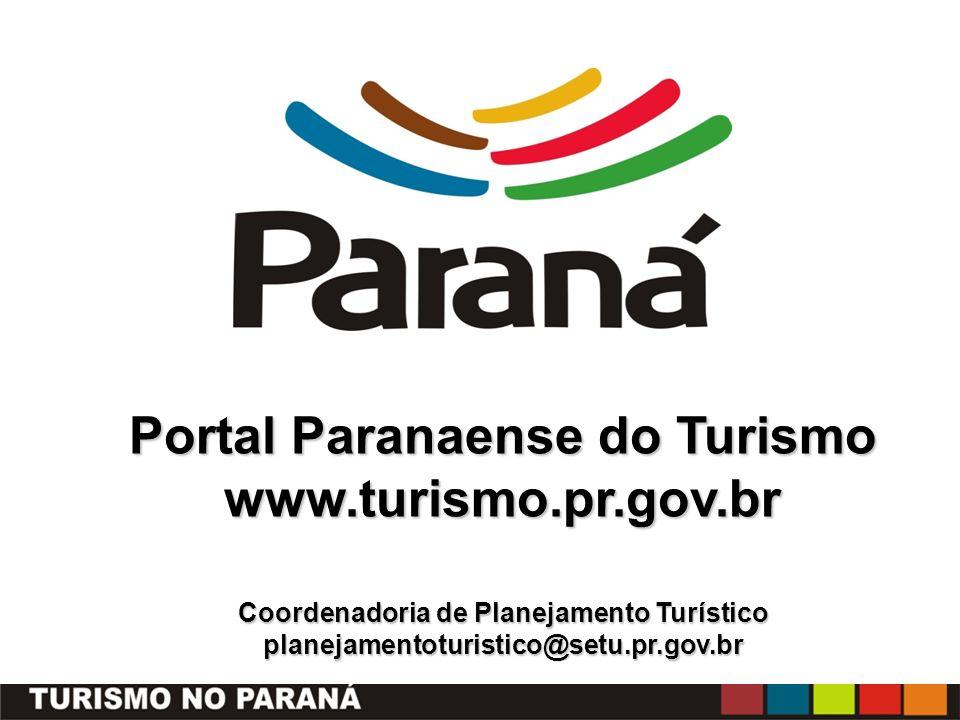 Portal Paranaense do Turismo www. turismo. pr. gov
