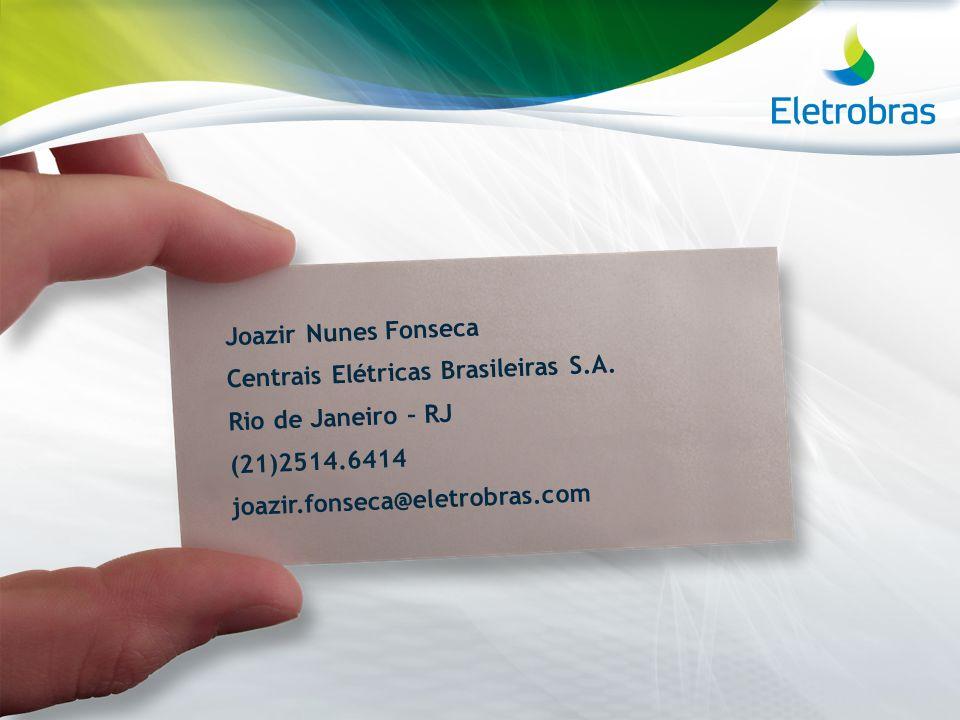 Joazir Nunes Fonseca Centrais Elétricas Brasileiras S. A