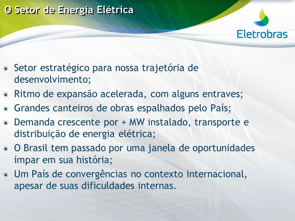 O Setor de Energia Elétrica