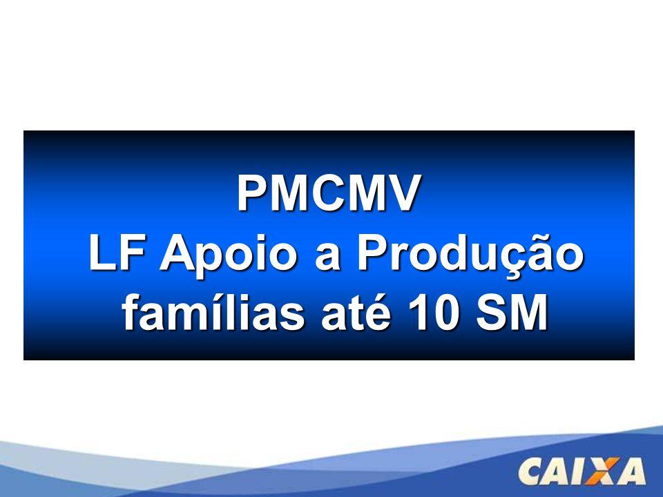 PMCMV LF Apoio a Produção famílias até 10 SM