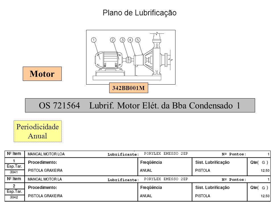 OS 721564 Lubrif. Motor Elét. da Bba Condensado 1