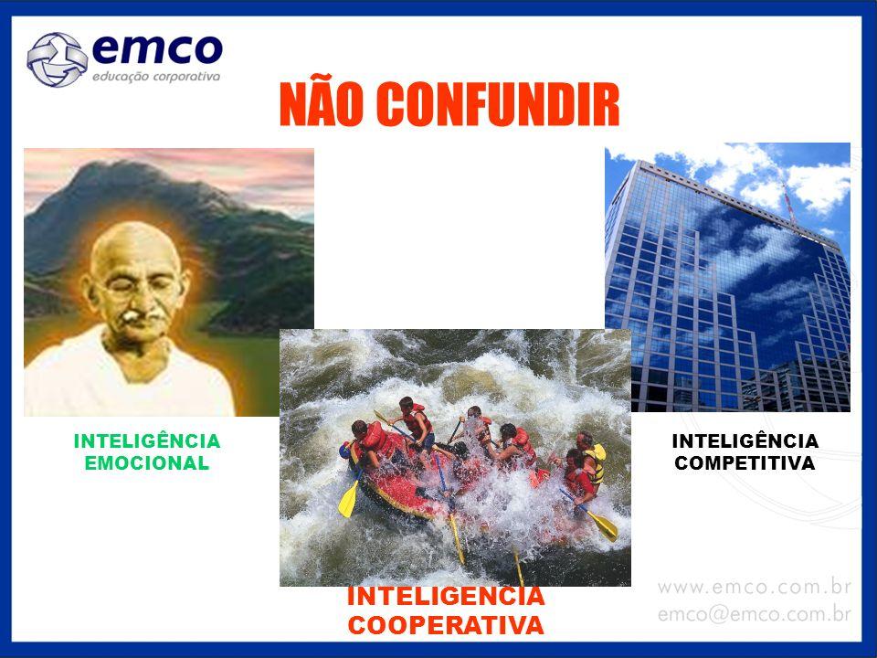 NÃO CONFUNDIR INTELIGÊNCIA COOPERATIVA INTELIGÊNCIA COMPETITIVA