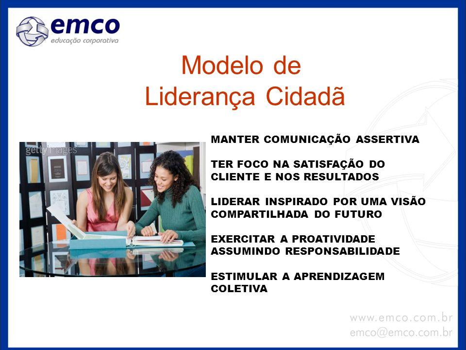 Modelo de Liderança Cidadã MANTER COMUNICAÇÃO ASSERTIVA