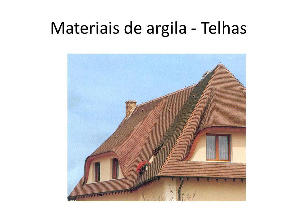 Materiais de argila - Telhas