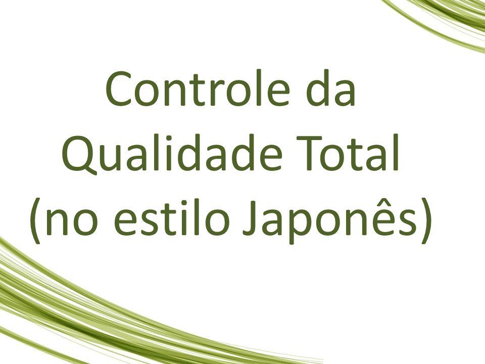 Controle da Qualidade Total (no estilo Japonês)