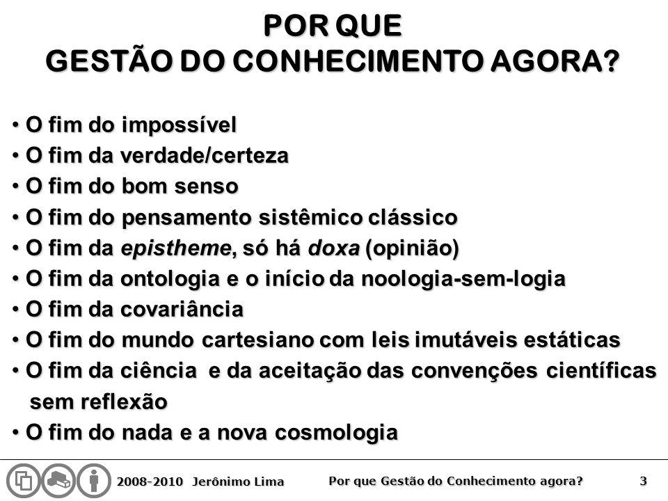 GESTÃO DO CONHECIMENTO AGORA
