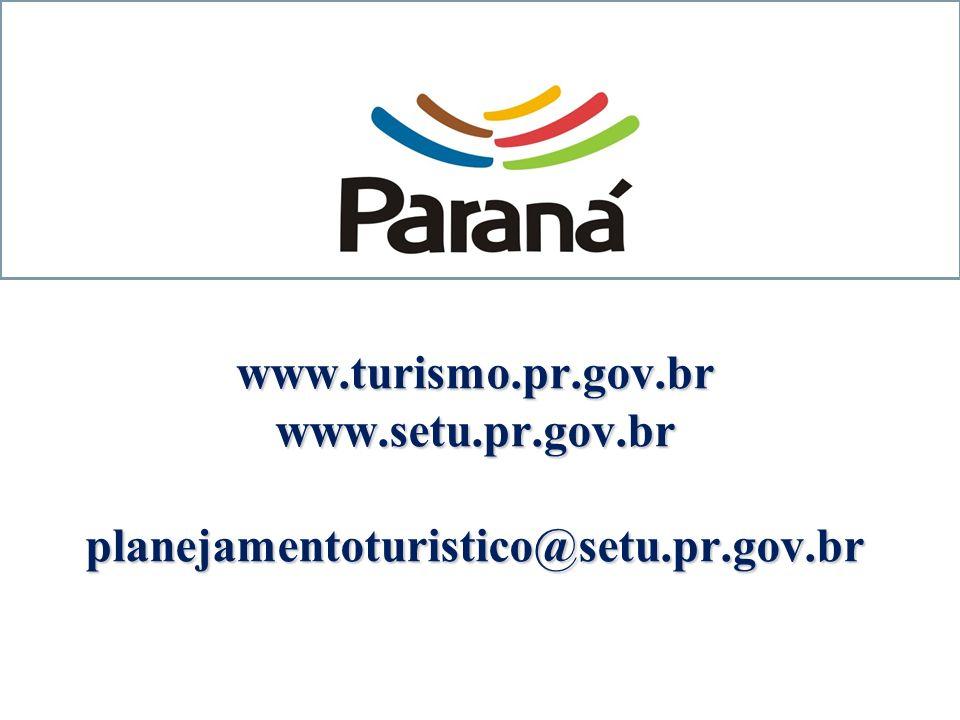 www. turismo. pr. gov. br www. setu. pr. gov