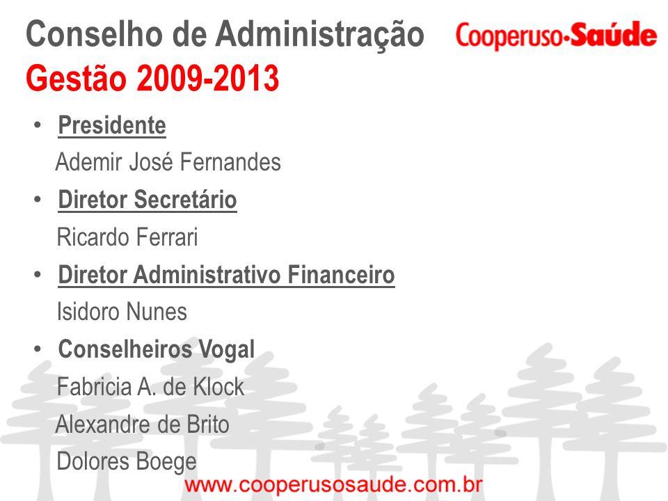 Conselho de Administração Gestão 2009-2013
