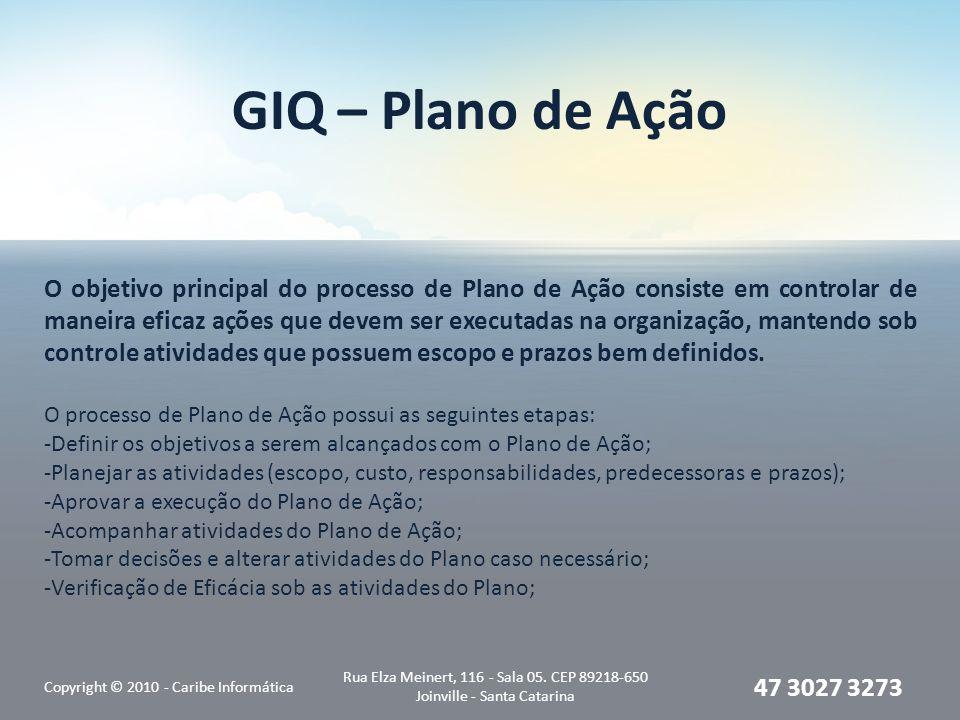 GIQ – Plano de Ação