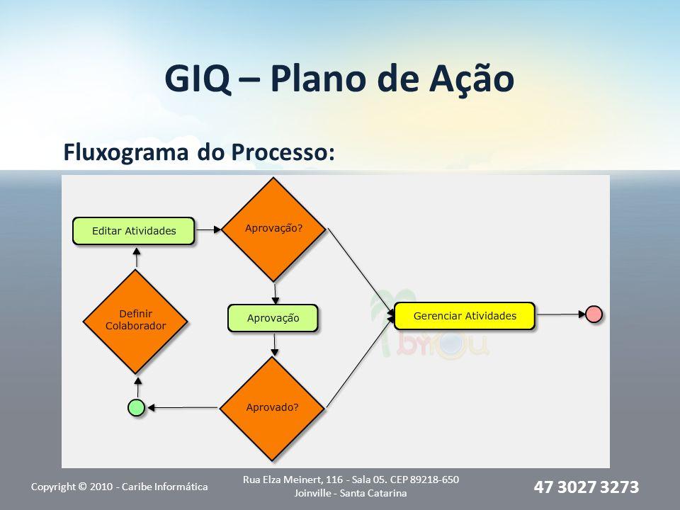 Fluxograma do Processo: