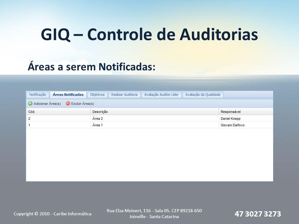 GIQ – Controle de Auditorias