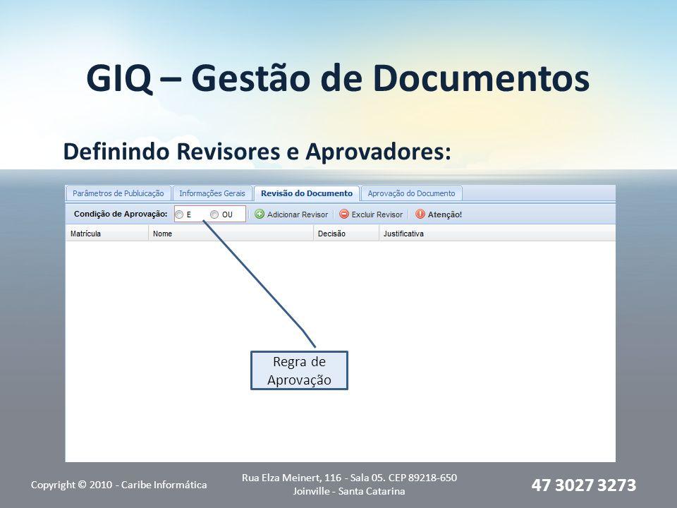 GIQ – Gestão de Documentos