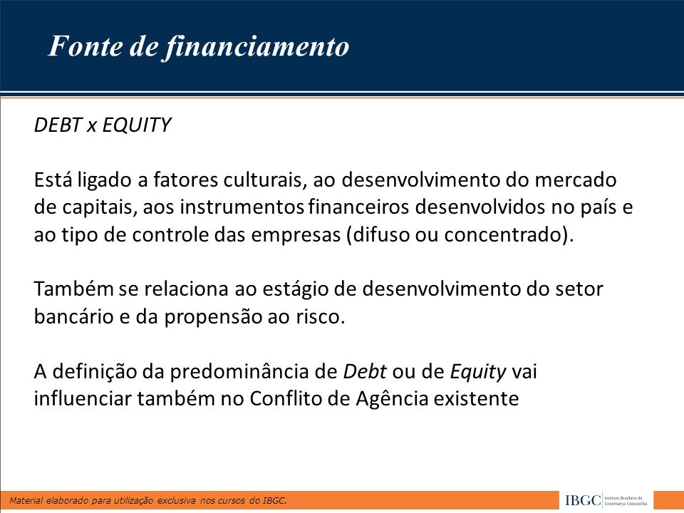 Fonte de financiamento