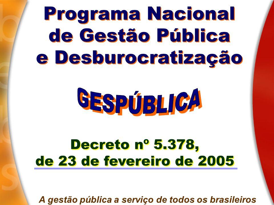 A gestão pública a serviço de todos os brasileiros